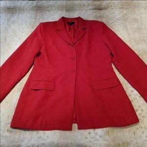 Red BCBG Blazer